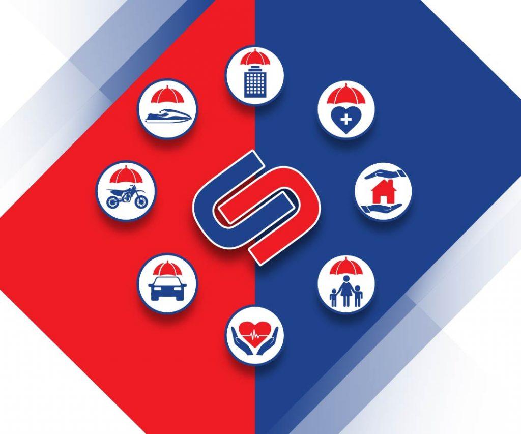 Auto Insurance, Boat Insurance, Commercial Insurance, Life Insurance, Home Insurance, Motorcycle Insurance, Health Insurance